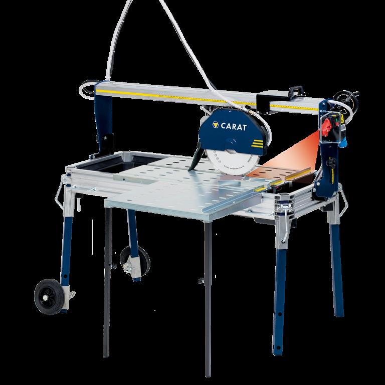 Carat P-3515 Steenzaagmachine Laser + zijtafel