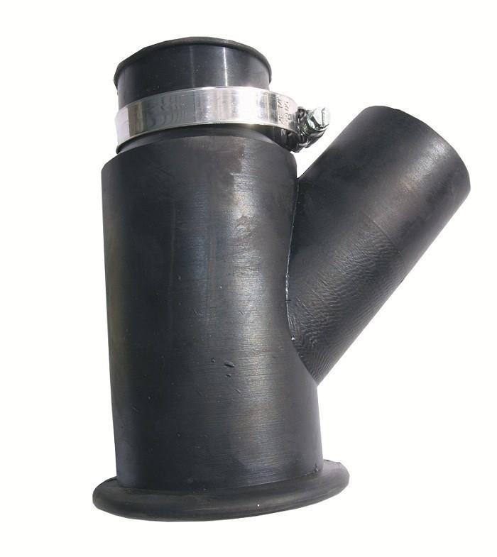 Dustcontrol afzuigkap rubber halsmaat 43mm