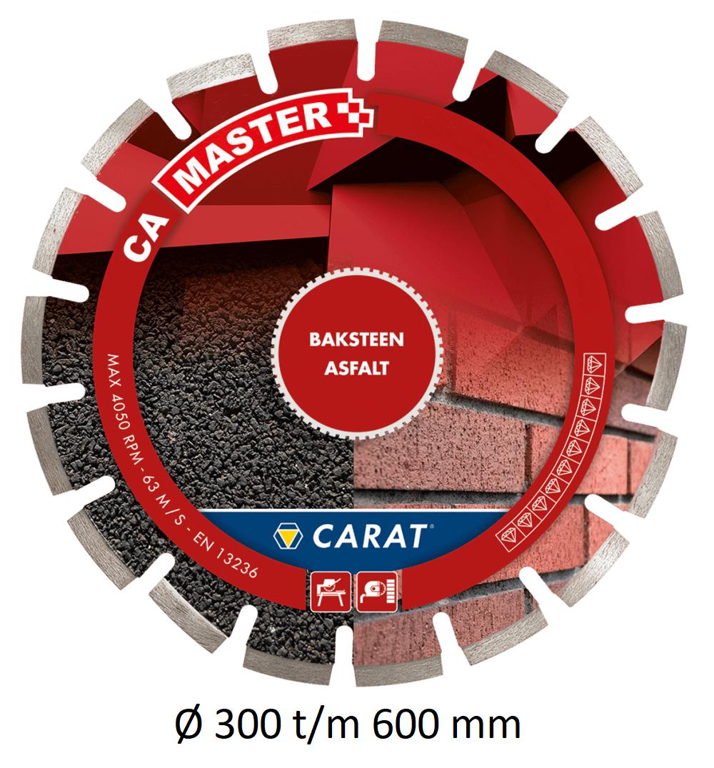 Carat diamantzaag asfalt CA MASTER