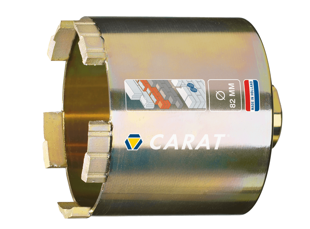 Carat dozenboor DUSTEC Super M16 Ø 82 mm