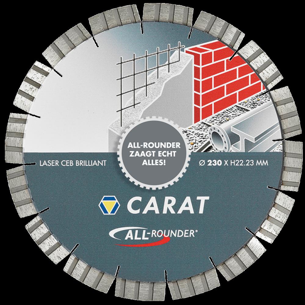 Carat diamantzaag universeel all-rounder MASTER-125