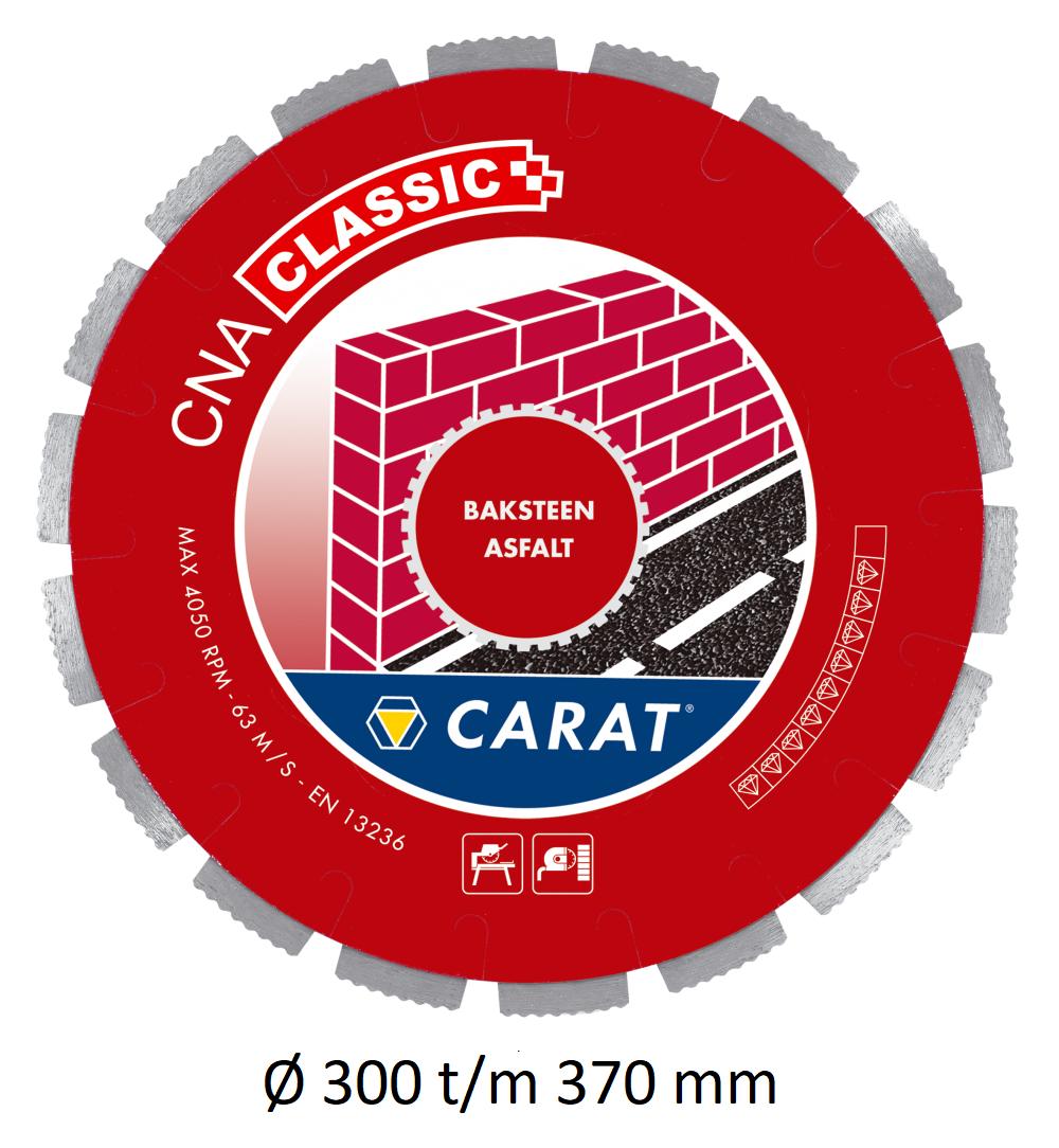 Carat diamantzaag baksteen asfalt CNA CLASSIC