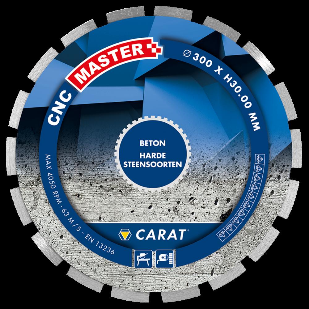 Carat diamantzaag beton CNC MASTER-25.4-350