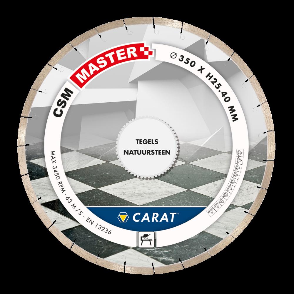 Carat diamantzaag tegels CSM MASTER-25.4-350