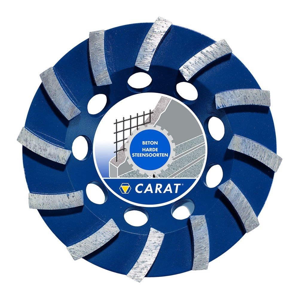 Carat diamant slijpkop beton standaard Ø115x22.23mm type dg