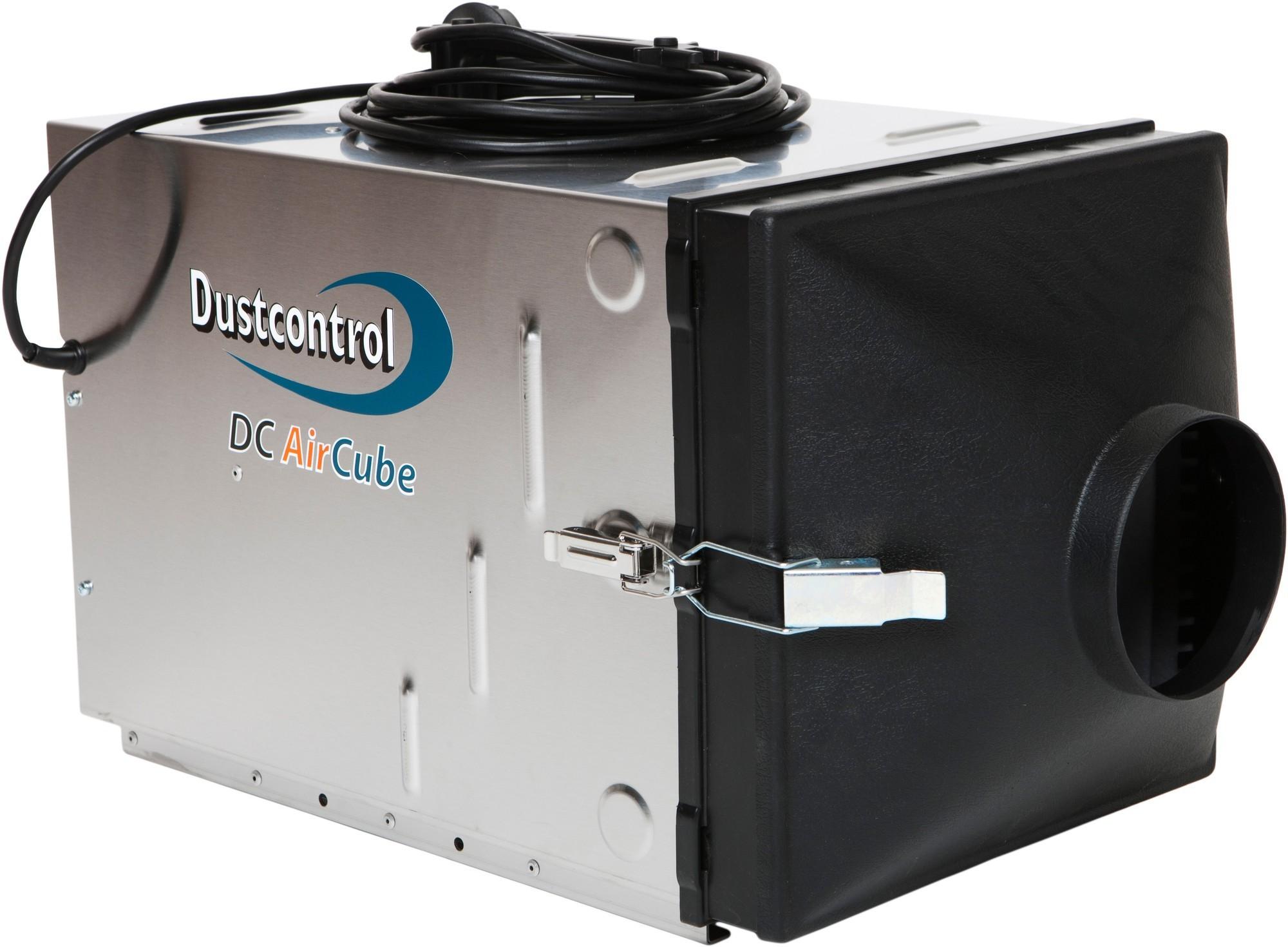 Dustcontrol Verloop t.b.v. Aircube 500