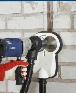 """Carat Dustprotect Twin stofafzuigset, 5/8""""x 16UNF voor dozenboren Ø 82 mm"""