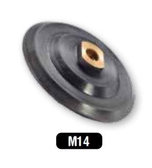 Diamant polijstschijf houder 125mm M14