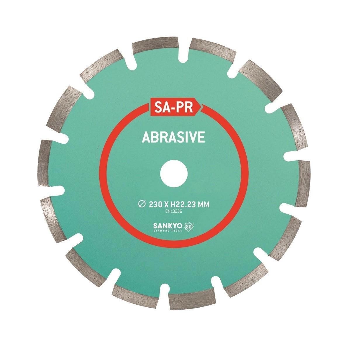 Sankyo diamantzaag baksteen/abrasief SA-PR -22.2-125