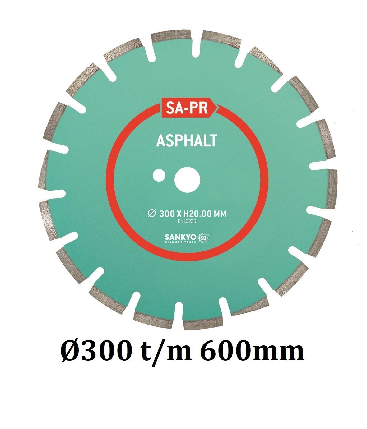 Sankyo diamantzaag Asfalt SA-PR