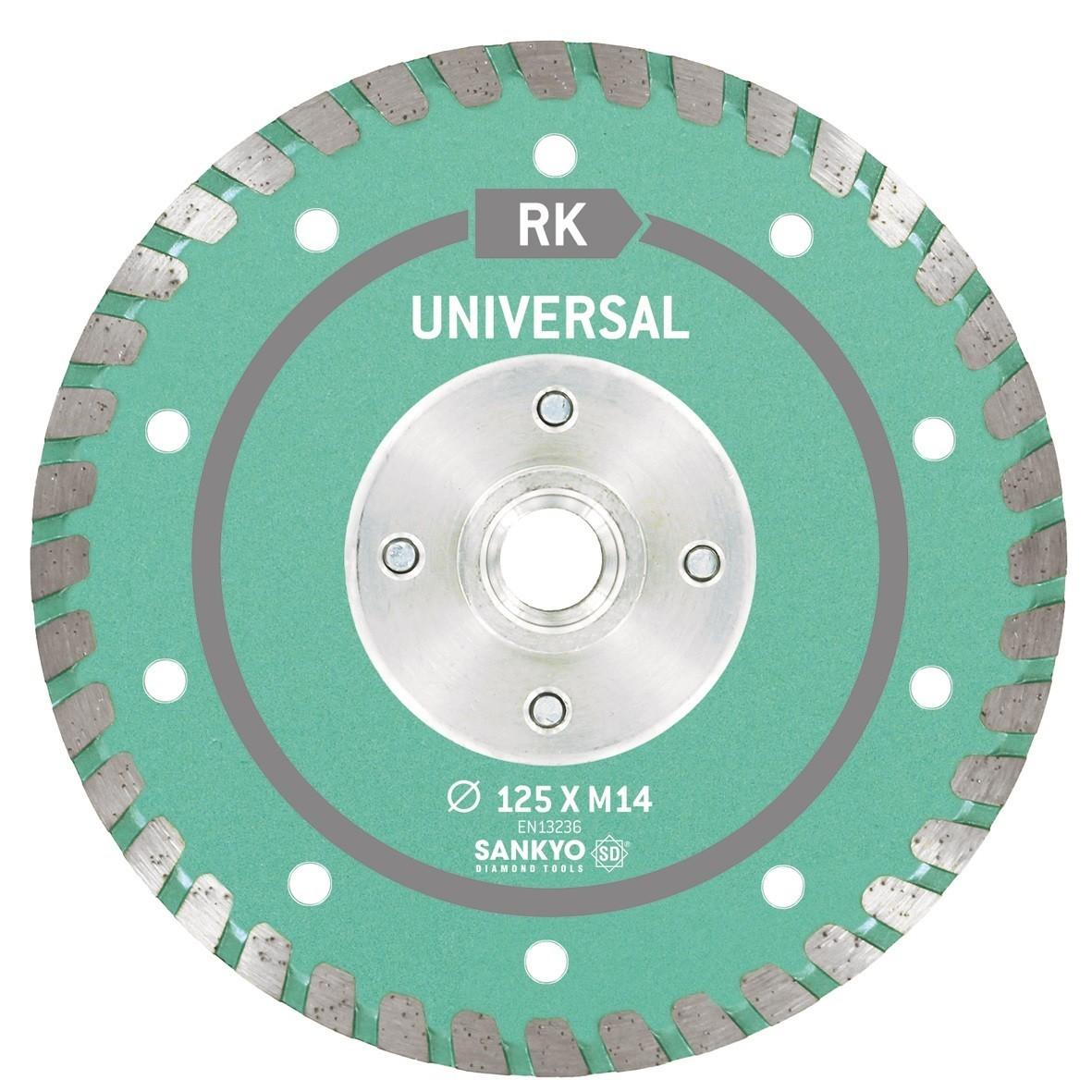 Sankyo universeel diamantzaagblad SU-RK-M14-Ø125