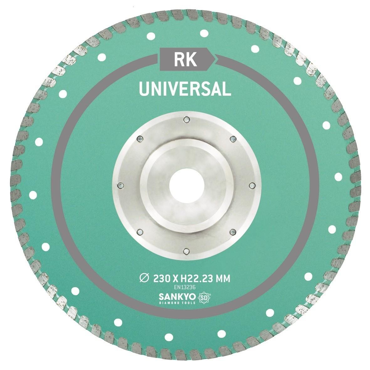 Sankyo universeel diamantzaag SU-RK-22.2flens -230