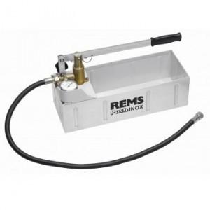 REMS Push RVS INOX Handafperspomp met manometer