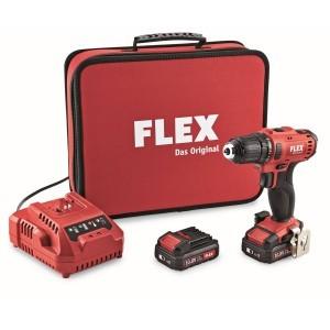 Flex DD 2G 10.8-LD/2.5 2-snelheden boorschroever set