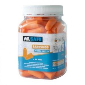 M-Safe Oordoppen 8011-R in pot (50 stuks)