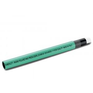 Luchtslang Ragno PU groen - Per meter