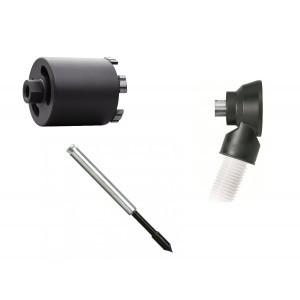 THS Dozenboor Premium 82 mm + Dustec® boorhouder + THS centreerpen