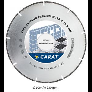Carat diamantzaag galvano CEPS CLASSIC