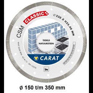 Carat diamantzaagblad tegels CSM CLASSIC
