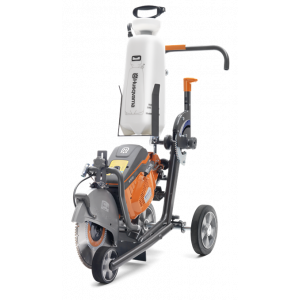 Husqvarna zaagtrolley KV970/K1260 incl. watertank voor K970/K1270