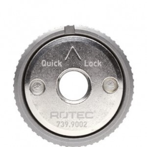 Quick-Lock snelspanmoer voor haakse slijpers