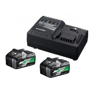 Hikoki MultiVolt Booster Pack 2x accu BSL36B18 + Lader UC18YSL3