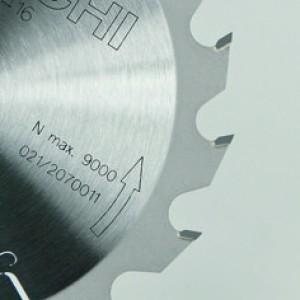 Hitachi Cirkelzaagblad aluminium 255 mm 60 tands