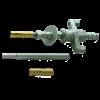 Bevestigingsset M12 voor vastzetten boorstatief Inclusief SDS-plus 4 snijder