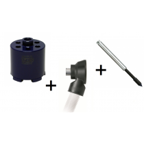 Dozenboor 82 mm + Dustec® boorhouder + centreerpen