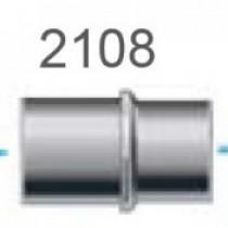 Dustcontrol Koppeling 38mm voor aansluiten op machine