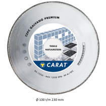 Carat diamantzaag galvano CEPC CLASSIC gesloten rand