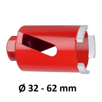 Carat M16 laser diamantboor droog, lengte 150 mm