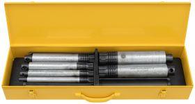 """REMS Nippelspanner Set 1/2-2"""" (1/2-3/4-1-1 1/4-1 1/2-2"""")"""