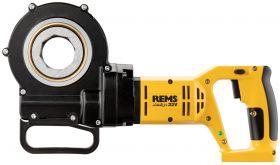 REMS Accu Amigo 22V elektrisch draadsnij-ijzer in stalen koffer