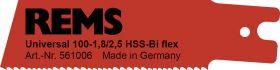 REMS Universalzaagblad 100-1.8/2.5 reciprozaagblad