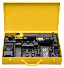 REMS Mini-Press S 22 V ACC Li-Ion in stalen koffer