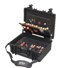 Wiha gereedschapskoffer elektricien Competence XL 81-delig