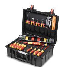 Wiha gereedschapskoffer Basic set L electric 34-delig