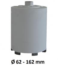 Diamantdroogboor 150mm M16 Ø 62-162 mm
