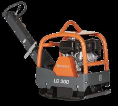 Husqvarna LG 300 Voorwaartse en omkeerbare trilplaat