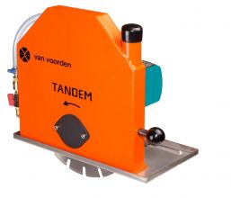 Tandem Muurzaagmachine 300mm nat en droog (PRCD)