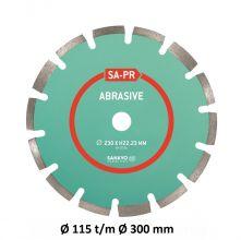Sankyo diamantzaag baksteen/abrasief SA-PR