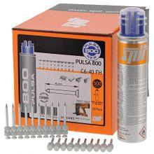 Spit Pulsa nagels C 6/40 (Incl. gaspatroon 800)