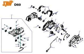 Onderdelen Spit D60