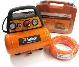 Pack Paslode FN1850.2 + Compressor Proline 160 + luchtslang (incl. 2 jaar garantie)