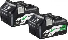 Hikoki MultiVolt accu BSL36A18 Twin pack 36 V 2,5Ah / 18 V 5,0 Ah