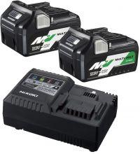 Hikoki MultiVolt Booster Pack 2x accu BSL36A18 + Lader UC18YSL3
