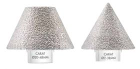 Carat Diamantfrezen voor de haakse slijper conisch
