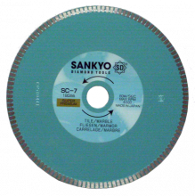 Sankyo SC 7 - Ø 180 - keramische tegels, tegels en graniet