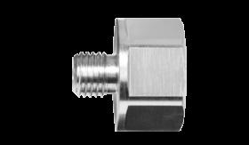 Carat adapter M16(uitwendig) - M30 (inwendig)